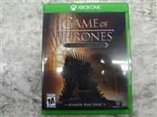 GAME OF THRONES FOR XBOX ONE